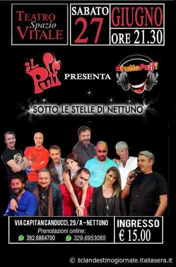 Stasera si inaugura la stagione estiva al Teatro Spazio Vitale di Nettuno - Il Clandestino Giornale