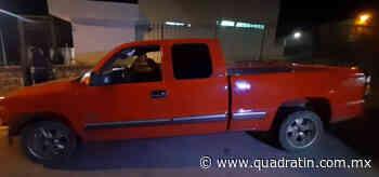 Lo detienen con camioneta reportada como robada, en Uruapan - Quadratín Michoacán
