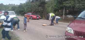 Liberan tramo carretero en la Pátzcuaro-Uruapan - Quadratín Michoacán