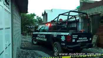 A hachazos, mujer es asesinada por su esposo en Uruapan - Quadratín Michoacán