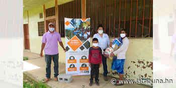 Parque Eólico entrega víveres en comunidades de Santa Ana y San Buenaventura - La Tribuna.hn