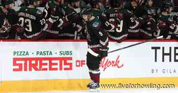 Time for the Arizona Coyotes to make the Kachina uniforms permanent - Five for Howling