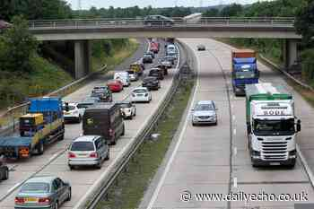 Woman injured in multi-vehicle accident on M271 near Redbridge roundabout - Daily Echo