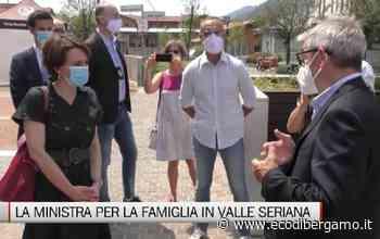 Nembro e Alzano, la visita del ministro Bonetti in Val Seriana - L'Eco di Bergamo