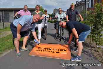 """Aanmoedigingen op de weg moeten fietsers motiveren: """"En straks volgt een fietsroutekaart die alle horecazaken verbindt"""