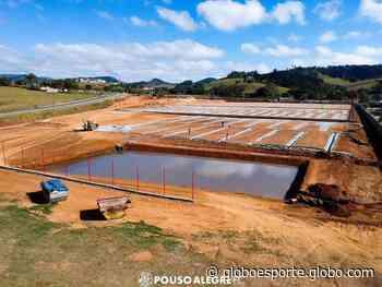 Primeira etapa do centro de treinamentos do Pouso Alegre deve ser finalizada em três meses - globoesporte.com