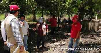 Supervisan viviendas afectadas por Cristóbal en Teapa - Diario Presente