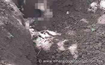 Tétrico hallazgo; Encuentran fosa clandestina en Teapa - El Heraldo de Tabasco