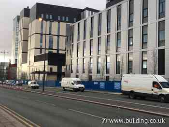 Faulty cladding on Carillion hospital to be removed by manufacturer