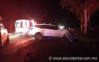 Fatal accidente cobra dos vidas en Acatic - El Occidental