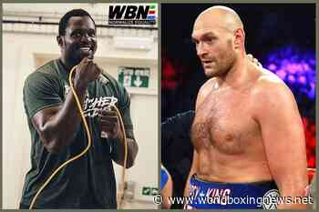 Tyson Fury to Dillian Whyte: Keep fighting 40-year-olds in Eddie's garden! - WBN - World Boxing News