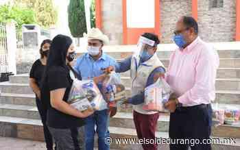 Se han entregado más de cuatro mil 400 despensas en Panuco de Coronado - El Sol de Durango