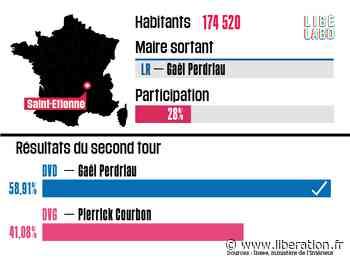 A Saint-Etienne, Gaël Perdriau (LR) reste maire - Libération