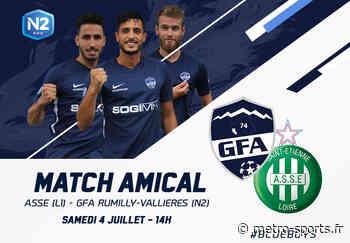Rumilly Vallières affrontera l'AS Saint-Etienne en préparation - Métro-Sports