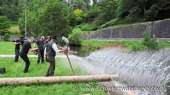 Schiltach - Flößer demnächst im Fernsehen - Schwarzwälder Bote