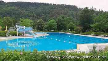 Schiltach - Ungewöhnlichste Freibadsaison aller Zeiten - Schwarzwälder Bote