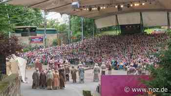 Saison fällt aus: Freilichtbühne Tecklenburg verschiebt um ein Jahr - Neue Osnabrücker Zeitung