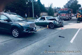 Serious crash in View Royal sends several people to hospital - Saanich News