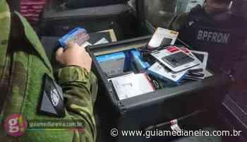 BPFRON apreende eletrônicos contrabandeados em Medianeira - Guia Medianeira