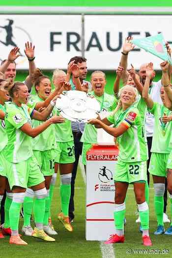 Wolfsburg: VfL-Frauen feiern sechste Meisterschaft und Rekord - NDR.de