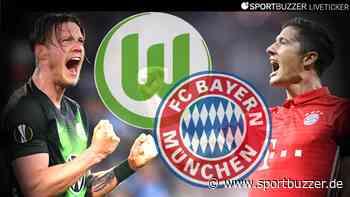 Der Liveticker zum Nachlesen: Der VfL Wolfsburg verliert 0:4 gegen Bayern München - Sportbuzzer