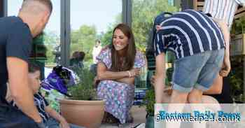 Duchess of Cambridge 'blown away' by Norwich family's bravery during visit to children's hospice - Eastern Daily Press