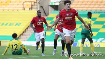 Harry Maguire delighted to score Man Utd's winner against Norwich - Manchester United