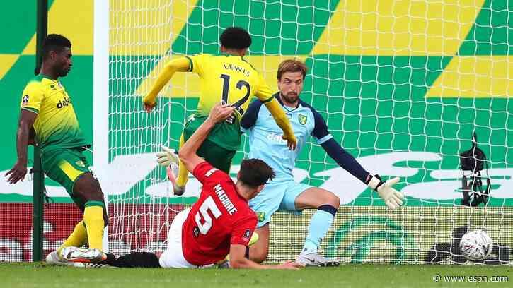Norwich City vs. Manchester United - Football Match Report - June 27, 2020 - ESPN