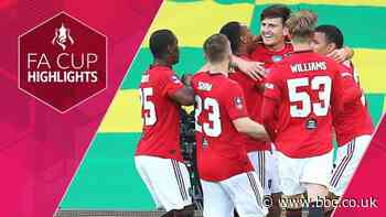 FA Cup: Norwich City 1-2 Manchester United highlights - BBC Sport