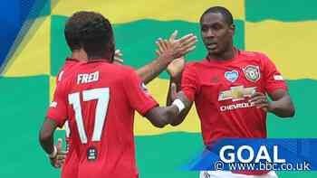 FA Cup: Odion Ighalo scores Man Utd's opener against Norwich City - BBC Sport