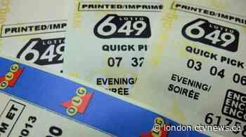 Winning ticket for $16M jackpot sold in Lambton: OLG - CTV News London