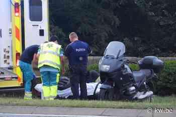 Motorrijder gewond bij ongeval in Jabbeke - Ongevallen - KW - Krant van Westvlaanderen