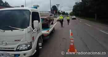 Más de 1.420 vehículos inmovilizados durante el puente festivo - http://www.radionacional.co/