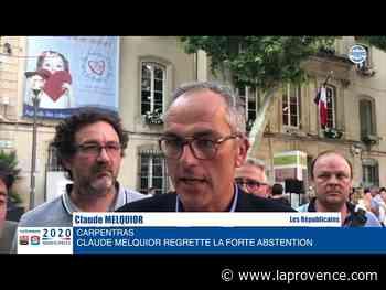 """Municipales à Carpentras : """"Le premier gagnant, c'est l'abstention"""" (Melquior) - La Provence"""
