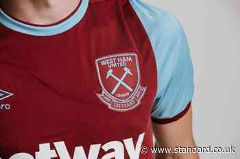 West Ham unveil new kit for 2020-21 season with special crest to mark 125th anniversary