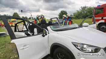 Unfall L1230 Laichingen: Unfall auf Weg zum gemeinsamen Familien-Ausflug - SWP