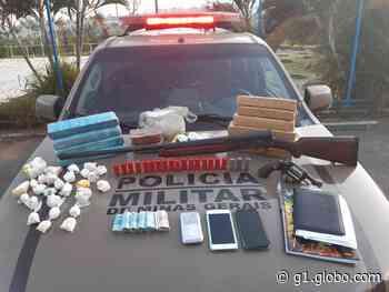 Homem é preso e armas e munições apreendidas durante operação em Papagaios - G1