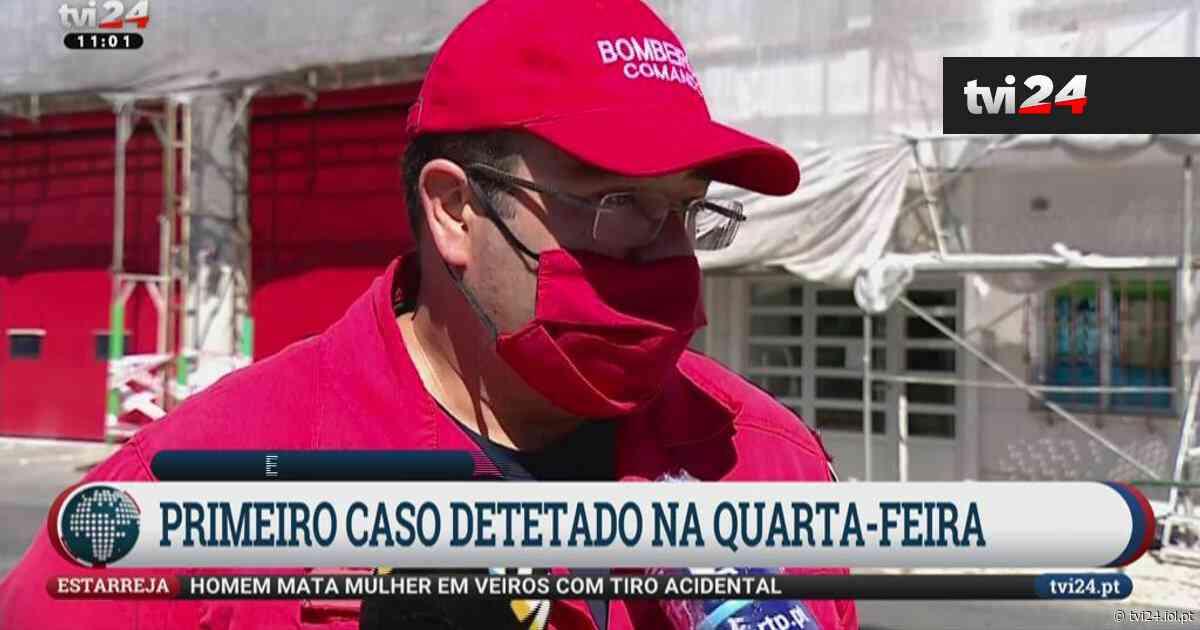 """Covid-19 nos Bombeiros de Queluz: """"A operacionalidade do quartel mantém-se"""" - TVI24"""