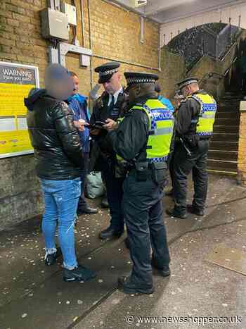 Ten people arrested in police operation at south east London train stations