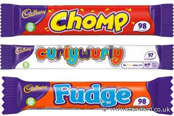 Cadbury reduces Curly Wurly and Chomp calories to fight childhood obesity