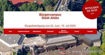 Stadt Ahlen zieht Zwischenfazit der Bürgerbeteilugung Bürgercampus - Radio WAF