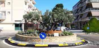 FOTO   Pineto, inaugurata la rotonda del quartiere Corfù. - ekuonews.it