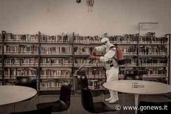 Igienizzata la biblioteca di Prato, intervento dei paracadutisti Nembo - gonews