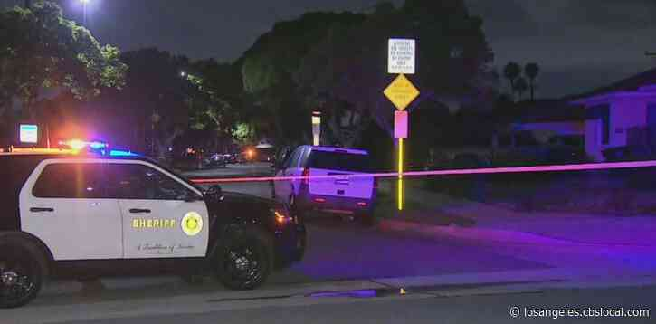 Driver Shot By LA Deputies After Chase Ends In Crash In Gardena