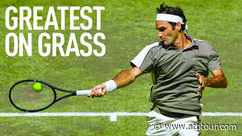 Uncovered: Roger Federer's Greatness On Grass (Part 1) | Video Search Results - ATP Tour