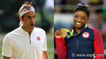 Fan vote: Roger Federer at Wimbledon vs Simone Biles at World Championships - ESPN