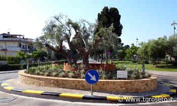 Pineto, valorizzata rotonda quartiere Corfù - Tg Roseto