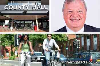 Amos says council is pro-cycling after defending funding bid - Malvern Gazette