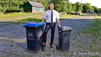 Weil sie nicht wenden kann: Abfuhr von der Müllabfuhr - BILD