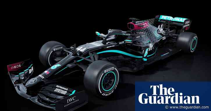 Mercedes unveil new black F1 livery in message against racism